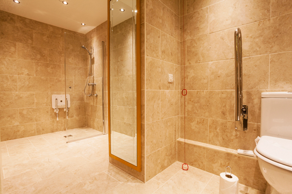 Adapted Disabled Limited Mobility Hotel Rooms In Llanelli