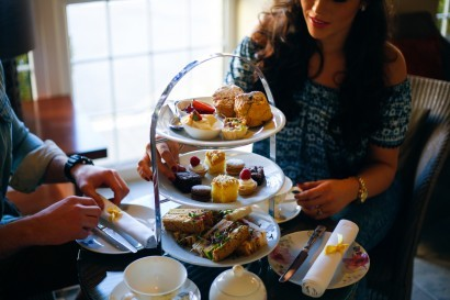 Stradey Park Hotel afternoon tea