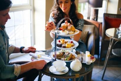 Stradey Park Hotel afternoon tea