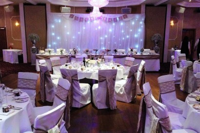 Stradey Park Hotel function room wedding