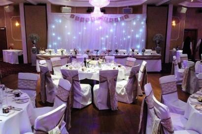 Stradey Park Hotel function room wedding