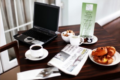Stradey Park Hotel business breakfast