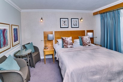 Stradey Park Hotel double bedroom