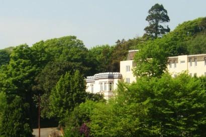Stradey Park Hotel hillside