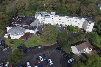 Stradey Park Hotel aerial