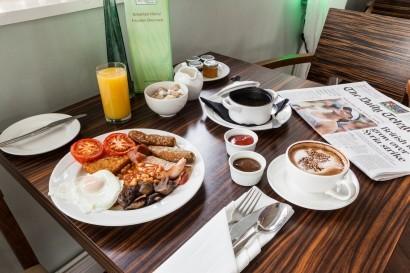 Stradey Park Hotel breakfast