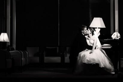 Stradey Park Hotel bride and groom