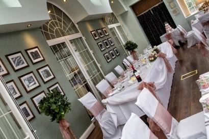 Stradey Park Hotel conservatory wedding