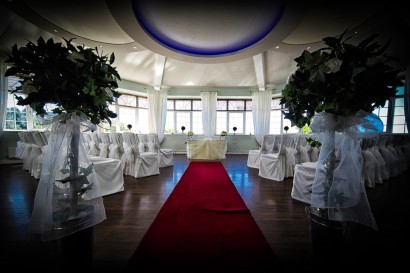 Stradey Park Hotel wedding ceremony