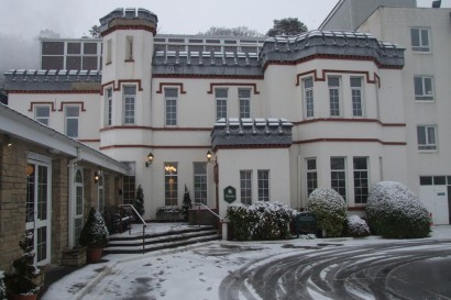 Stradey Park Hotel winter