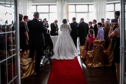 Stradey Park Hotel wedding ceremony
