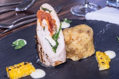 Stradey Park Hotel chicken dish