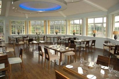 Stradey Park Hotel Samphires Restaurant conservatory