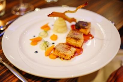 Stradey Park Hotel food