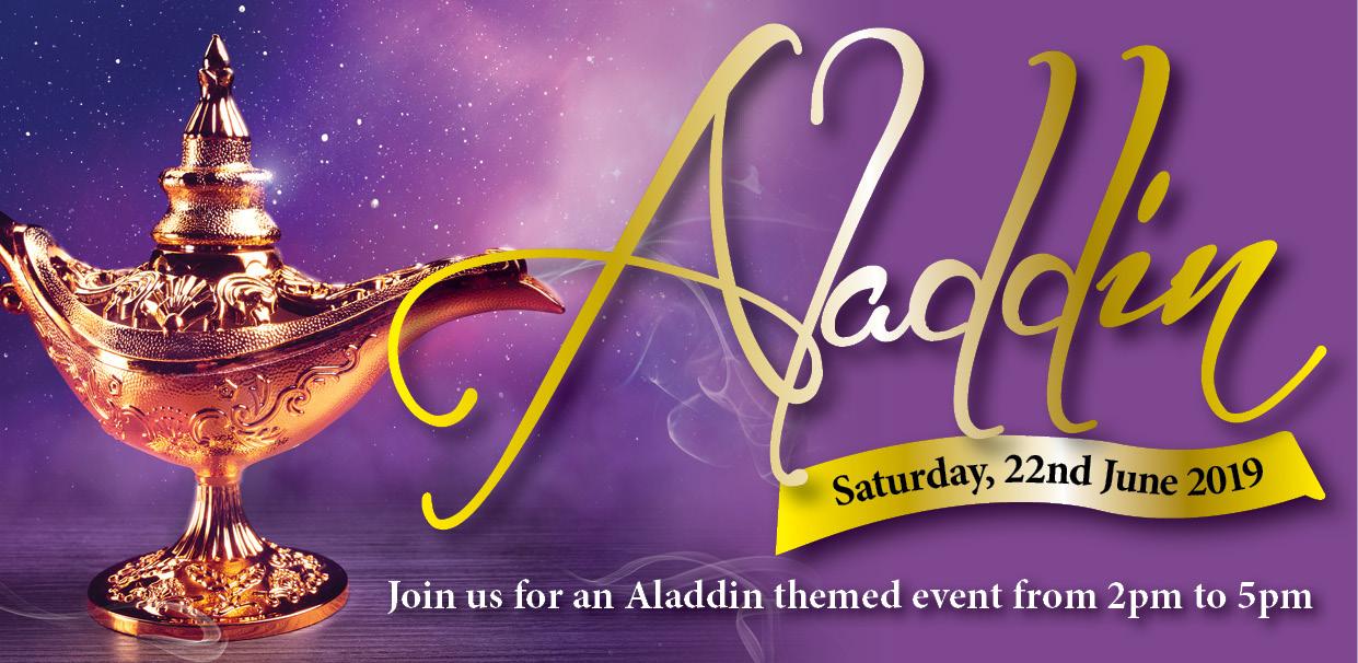 Aladdin Inspired Event