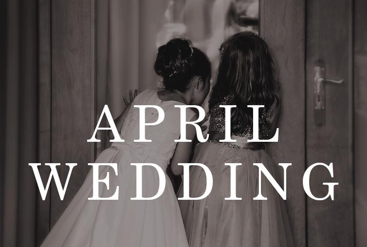 April Wedding Deal
