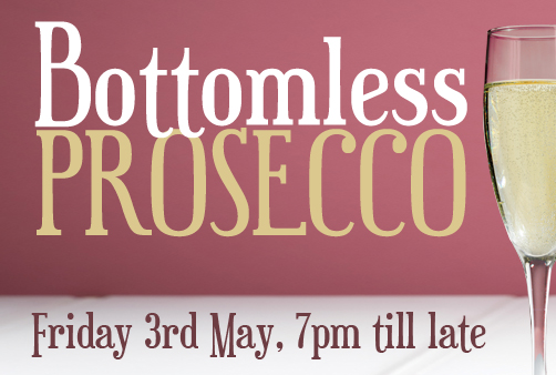 Bottomless Prosecco Event