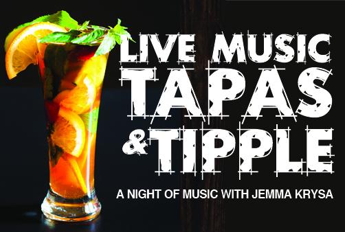 Live music, Tapas & Tipple